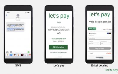 Fått SMS fra Lets Pay med oss som avsender?